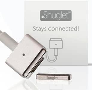 MacBook ACアダプター MagSafe2 固定強化アタッチメント Snuglet スナグレット(2個入パッケージ) MacBookの電源ケーブルが外れやすいと感じるあなたの悩みを この精巧なリングが解決します
