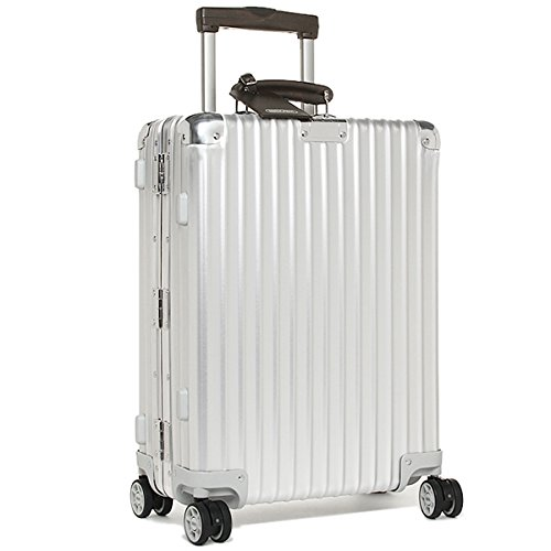 (リモワ) RIMOWA リモワ スーツケース RIMOWA 971.52.00.4 CLASSIC FLIGHT クラシックフライト 55CM 33L 4輪 TSAロック付き キャリーケース SILVER [並行輸入品]