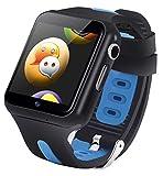 スマートウォッチ 子供 腕時計 3GNanoSIMカード DOCOMO/SOFTBANK キッズウォッチ GPS 居場所確認 見守り 紛失防止 通話/メッセージやり取り 動画/ミュージック 音声電話 誕生日プレゼント