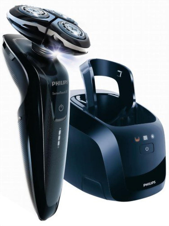 腰ハンバーガー特定のPHILIPS 3Dシェーバー【洗浄充電器付】センソタッチ3D RQ1250CC