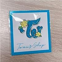 TWICE ポップアップストア 公式ピンバッジ トゥワイスハワイHAWAII 2 TWICE 542873 kpop グッズ