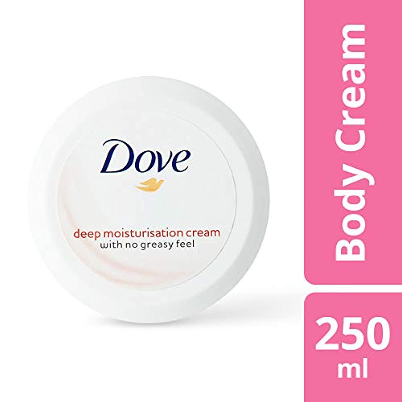 命令的挨拶歴史Dove Deep Moisturisation Cream, 250ml