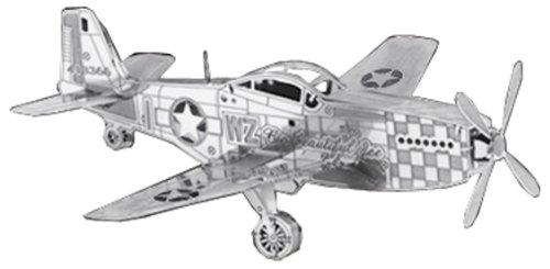 メタリックナノパズル P-51マスタング TMN-03