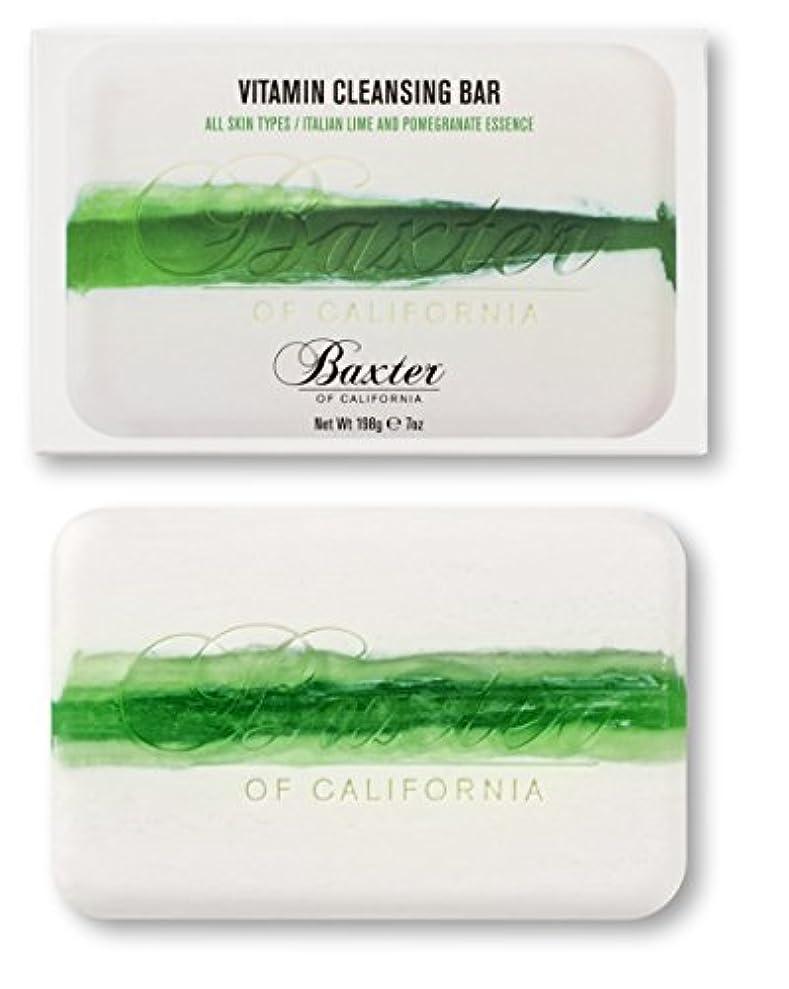 集団的一般的に言えば説教Baxter OF CALIFORNIA(バクスター オブ カリフォルニア) ビタミンクレンジングバー イタリアンライム&ポメグラネート 198g