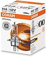 OSRAM 64193 ORIGINAL H4, halogen headlamp, 64193, 12 V passenger car, folding carton box (1 unit)