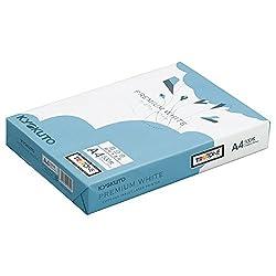 コピー用紙 A4 プレミアムホワイト 白色度98% 紙厚0.09mm 2500枚(500×5) PPCKA4ハコ