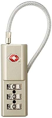 [コンサイス] TSAケーブルロック    8cm kg 287025 GD ゴールド