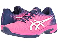 [asics(アシックス)] レディースランニングシューズ・スニーカー・靴 Solution Speed FF Pink Glo/White 11.5 (28cm) B - Medium