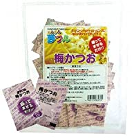 夢フル ポップコーン 調味料 【梅かつお】3g×50袋