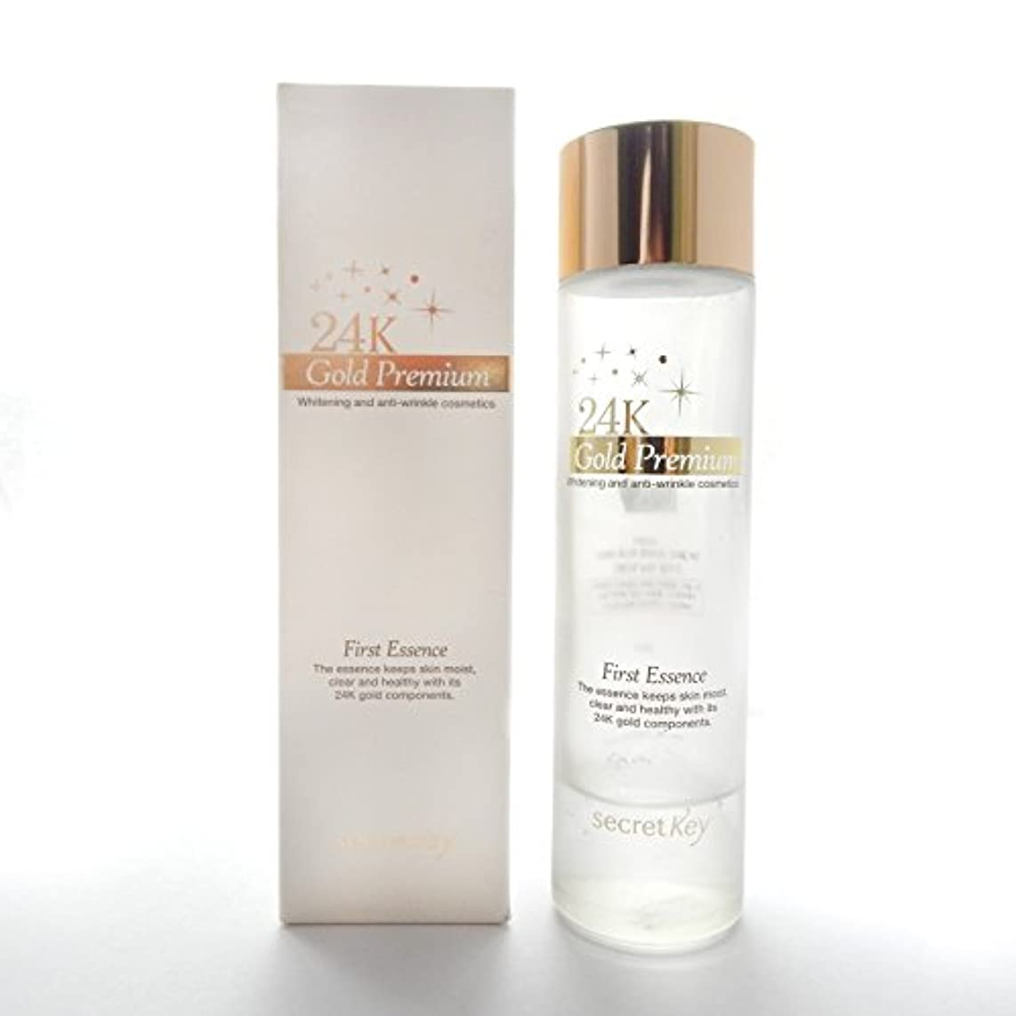 免除楽しいブルーベルSecret key 24K Gold Premium First Essence/100% Authentic Korea Cosmetic