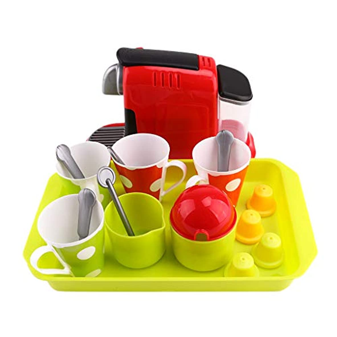 トマトピカリングスラム街シミュレーション コーヒーメーカー プラスチック スプーン トレイ ロールプレイ ゲーム