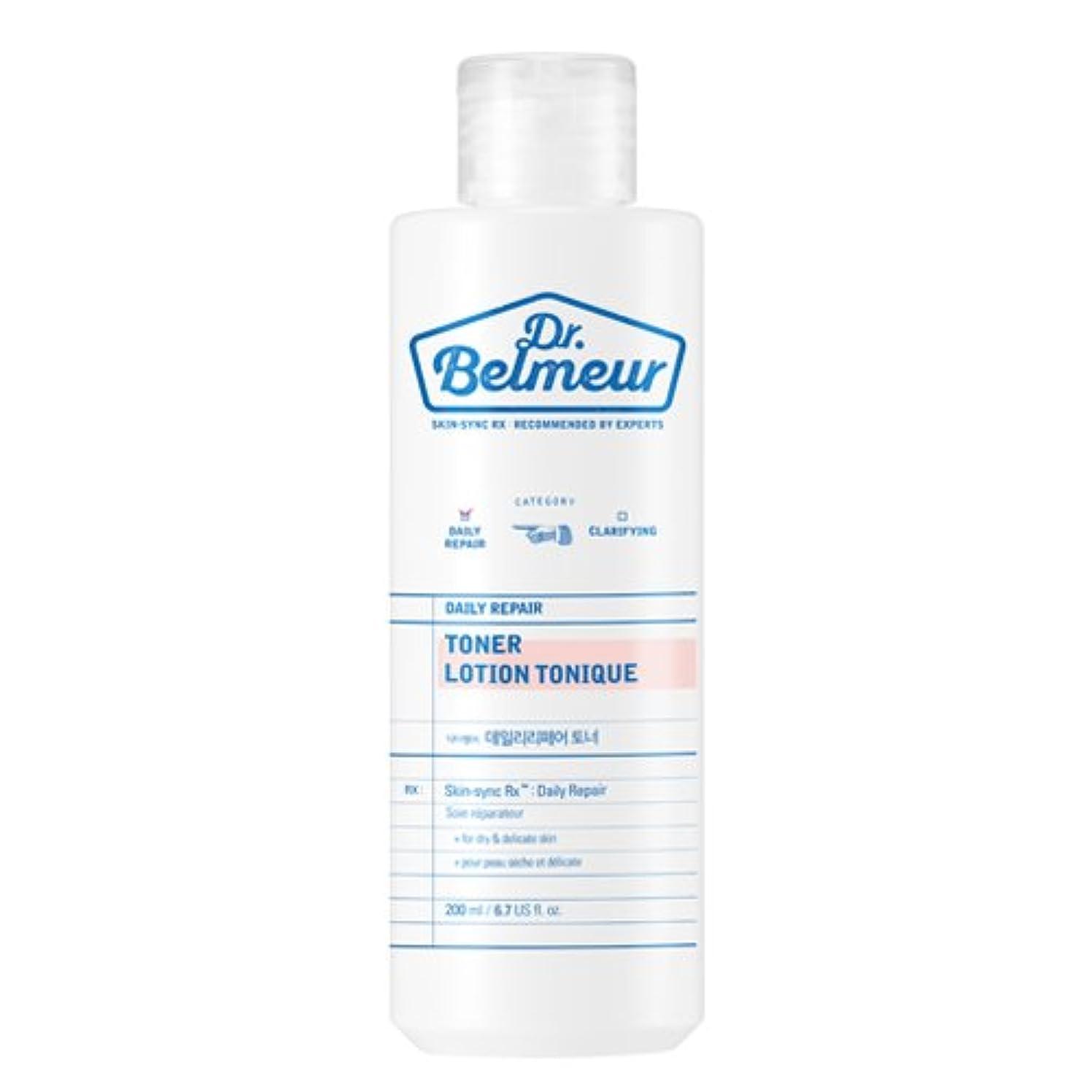 降雨ビデオプランターTHE FACE SHOP Dr.Belmeur Daily Repair Toner 200ml/ザフェイスショップ ドクターベルムール デイリー リペア トナー 200ml