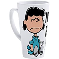 CafePress–Peanuts : Lucy聖パトリックの日–17oz Latte Mug