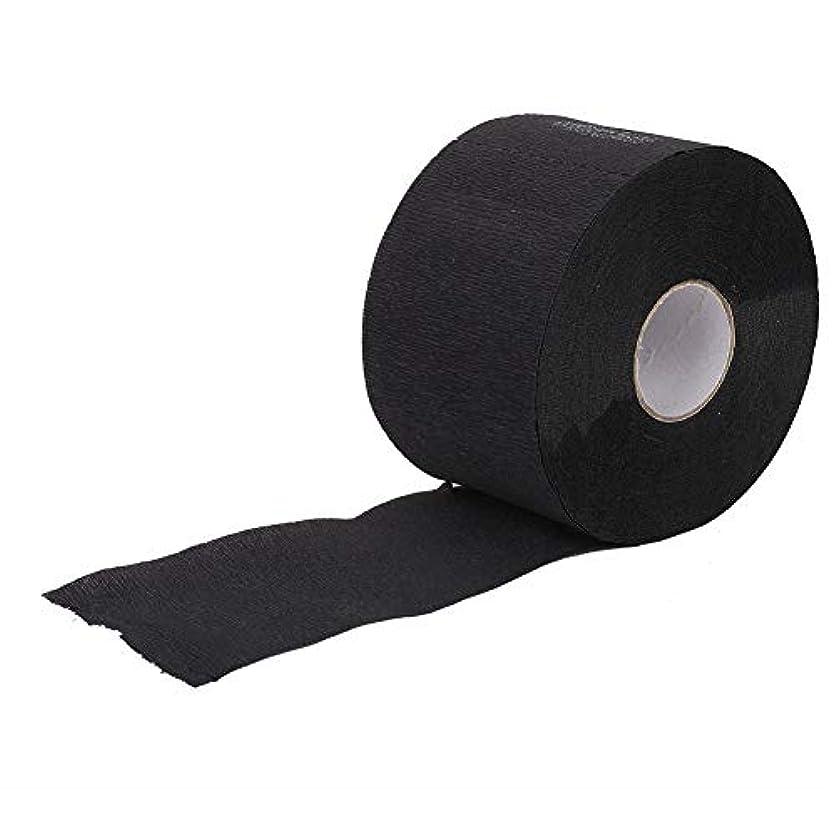 下緊張するシャツ柔らかいストリップを覆う伸縮性のある使い捨てネック, 理髪店の理髪療法のための伸縮性がある使い捨て可能な首のカバーペーパーストリップの柔らかいティッシュ