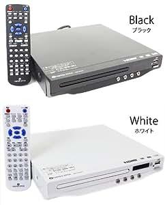 VERTEX DVD-V014 | CPRM対応DVDプレーヤー 地デジ対応 HDMIケーブル付属 USB端子搭載 ヴァーテックス Vertex (ホワイト)