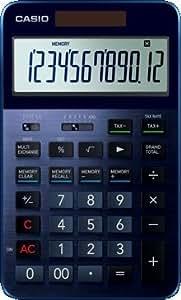 カシオ計算機 カシオ 電卓 12桁 プレミアム電卓 ネイビーブルー