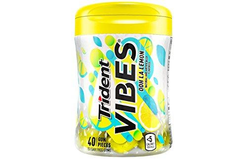 Trident Vibes Ooh La Lemon Chewing Gum トライデントバイブスオーラレモンチューインガム [並行輸入品]
