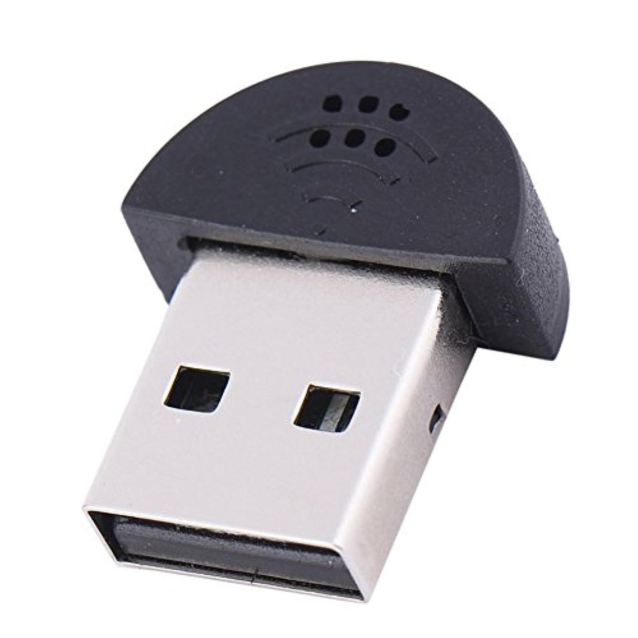 がんばり続けるチャレンジスリップシューズLiebeye マイク ミニ 持ち運び ポータブル USB 2.0 音声 マイク オーディオ アダプタ ドライバ