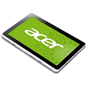 acer アイコニアシリーズ タブレットPC ( 10.1型 / Atom Z2760 / 2GB / 64GB eMMC / Win8 32bit / シルバー ) ICONIA W510