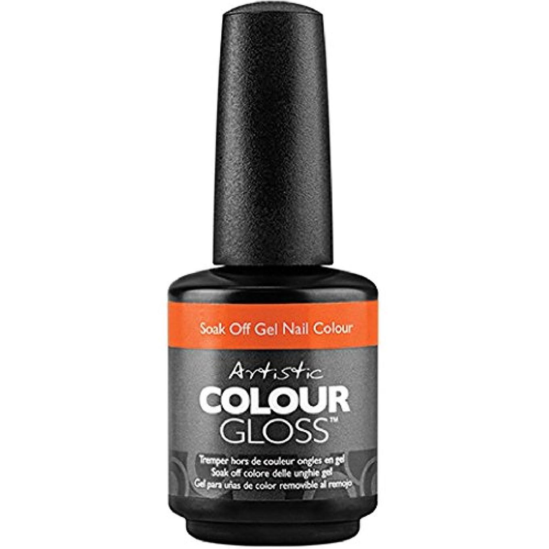 モットークリエイティブ死ぬArtistic Colour Gloss - Colortopia - 0.5oz / 15ml