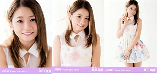 【島田晴香】 公式生写真 AKB48 Theater 2016.March 月別03月 3枚コンプ -