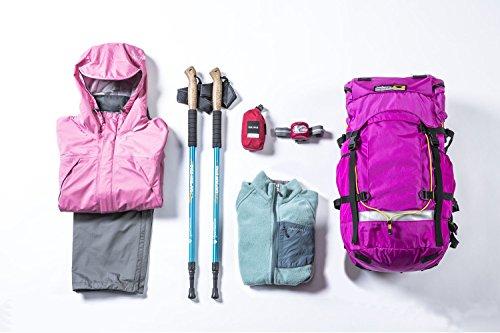 やまどうぐレンタル屋 登山レンタルセット 利用チケット シューズなし6点・女性用(2泊3日) *ご利用の注意事項を必ずご確認ください