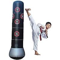 Kanemt エアースタンディングバッグ サンドバッグ 子供 大人 格闘技 ジム エクササイズ ボクシング ブラック
