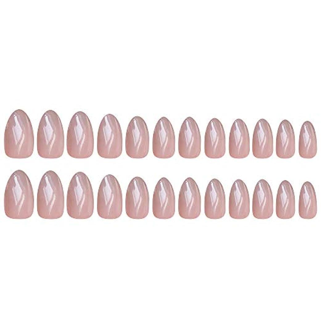 注文存在する石化するDecdeal ネイルチップ 24ピース 12異なるサイズ diy サロン ネイルアートツール