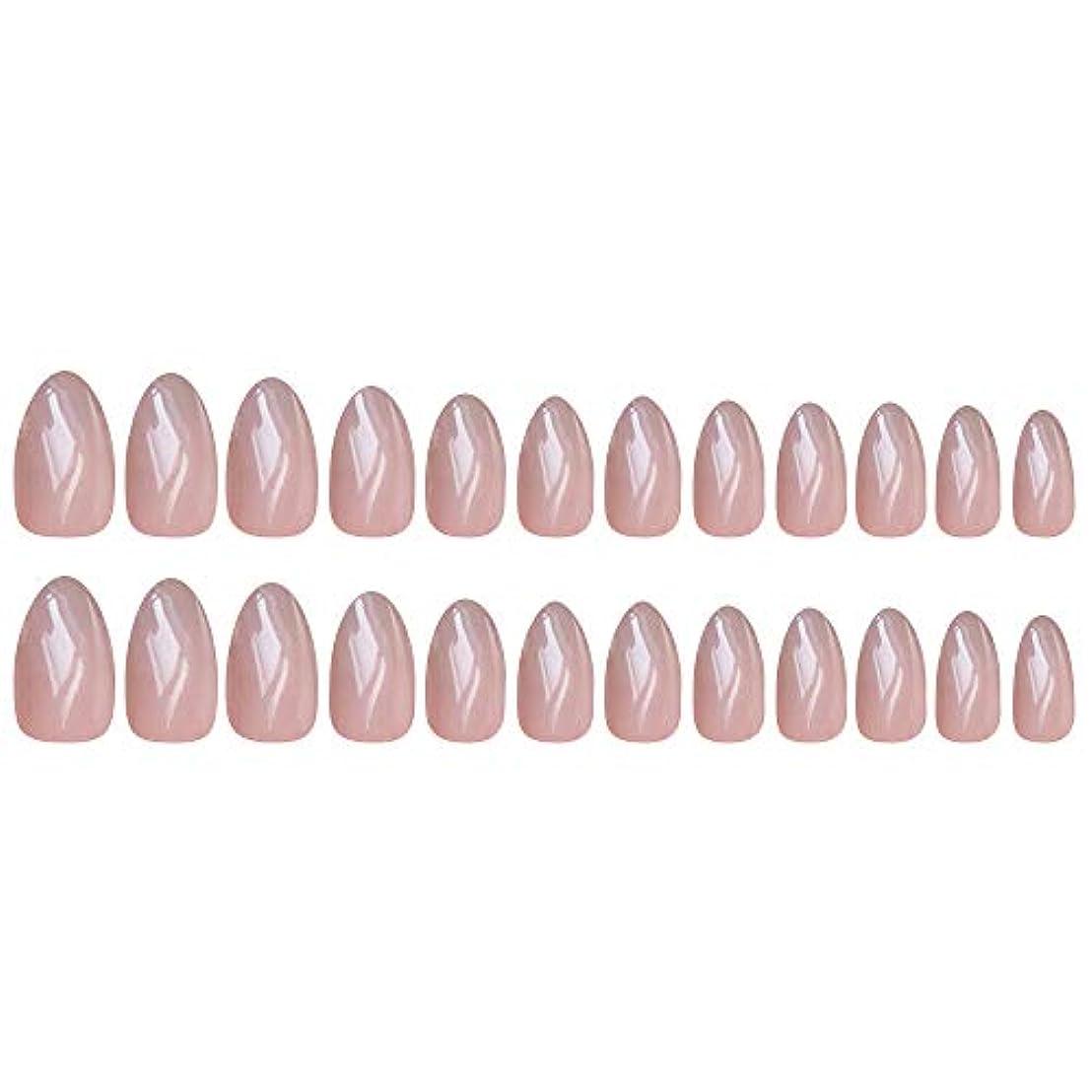 広範囲に頭痛アダルトDecdeal ネイルチップ 24ピース 12異なるサイズ diy サロン ネイルアートツール