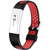 Adepoy Fitbit Alta/Fitbit Alta HR バンド スポーツバンド 交換ベルト For Fitbit Alta/Fitbit Alta HR