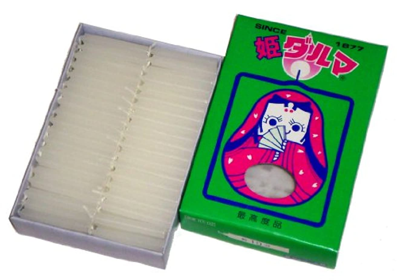 ガチョウ重要ごちそう東海製蝋のろうそく 姫ダルマ 大箱