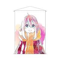 ゆるキャン△ 各務原なでしこ Ani-Art タペストリー 縦72.8cm×横51.5cm