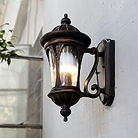 夜明けセンサーブラックに壁掛けランプ屋外ガーデンライト