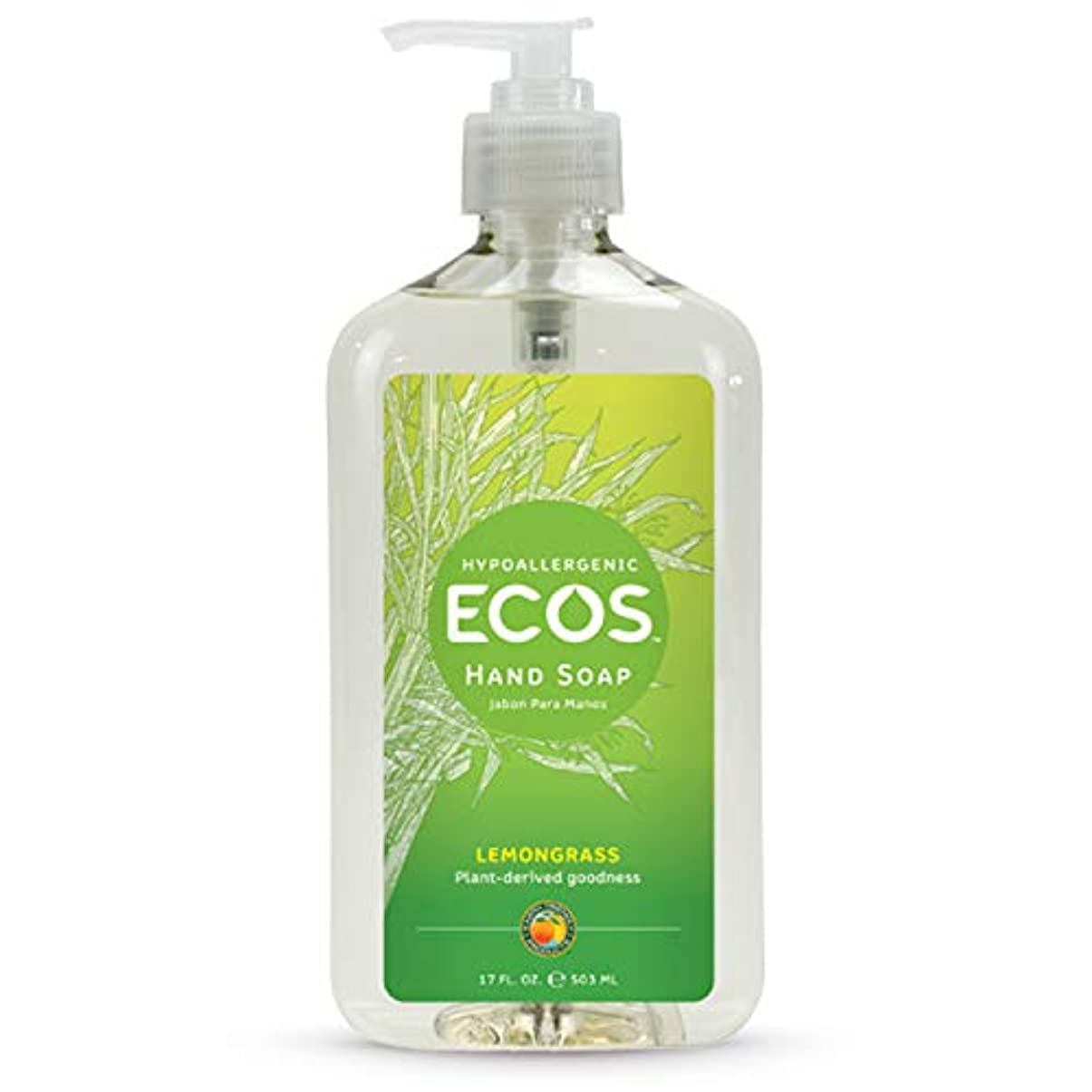 フォアタイプ粗い周りEarth Friendly Products Hand Soap, Lemongrass, 17-Ounce Bottle (Pack of 6) by Earth Friendly Products