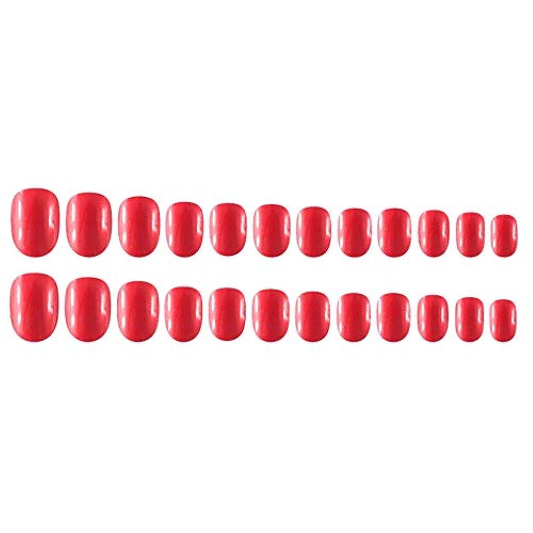 占めるオプショナルレンダリングDecdeal Decdeal ネイルチップ 24ピース 12異なるサイズ diy サロン ネイルアートツール 偽
