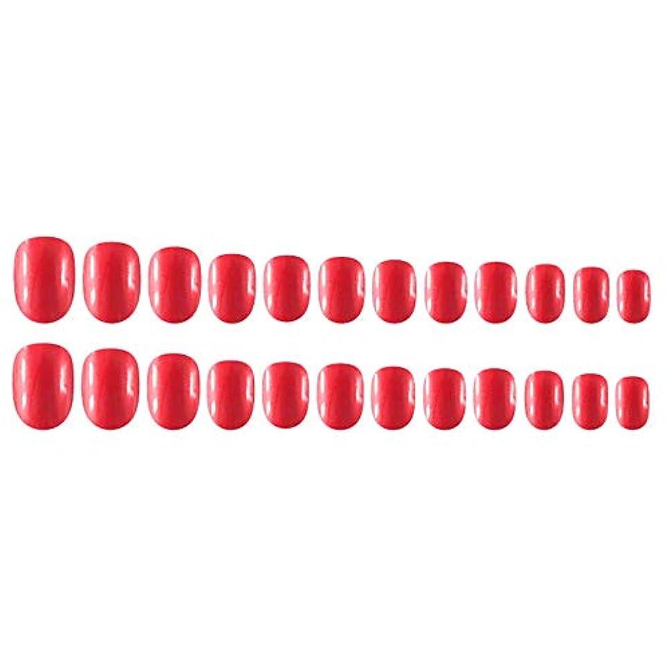 グレード若い一般的にDecdeal Decdeal ネイルチップ 24ピース 12異なるサイズ diy サロン ネイルアートツール 偽
