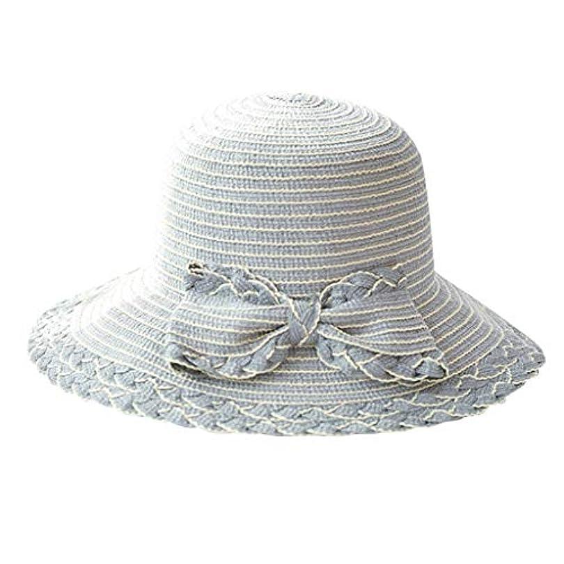 スプレー調査セラフ夏 帽子 レディース UVカット 帽子 ハット レディース 日よけ 夏季 女優帽 日よけ 日焼け 折りたたみ 持ち運び つば広 吸汗通気 ハット レディース 紫外線対策 小顔効果 ワイヤー入る ハット ROSE ROMAN