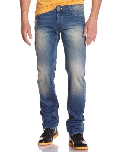 アタック・ロゥ・ストレート メンズ デザイン5ポケット ストレートデニム ジースター ロゥ