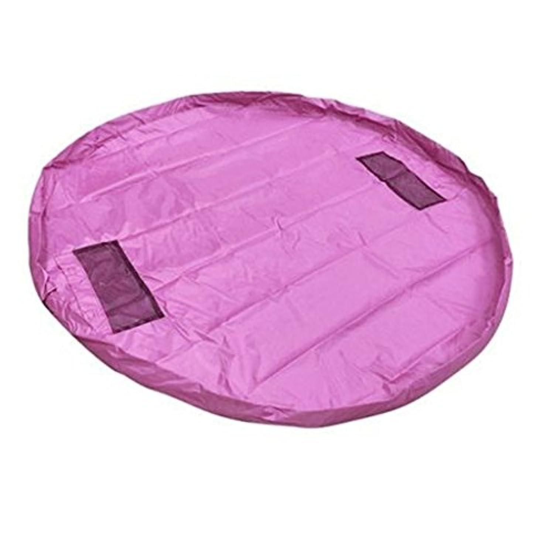dds5391 150 cm Kidトイオーガナイザーストレージバッグホーム遊びマット毛布ボックスピクニックラグ One Size ピンク Y1150549Z5LO95687