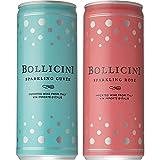 【アメリカで話題の缶入 スパークリングワイン】 ボッリチーニ 白 ロゼ 6缶飲み比べセット [ スパークリング アメリカ 250ml×6本 ]