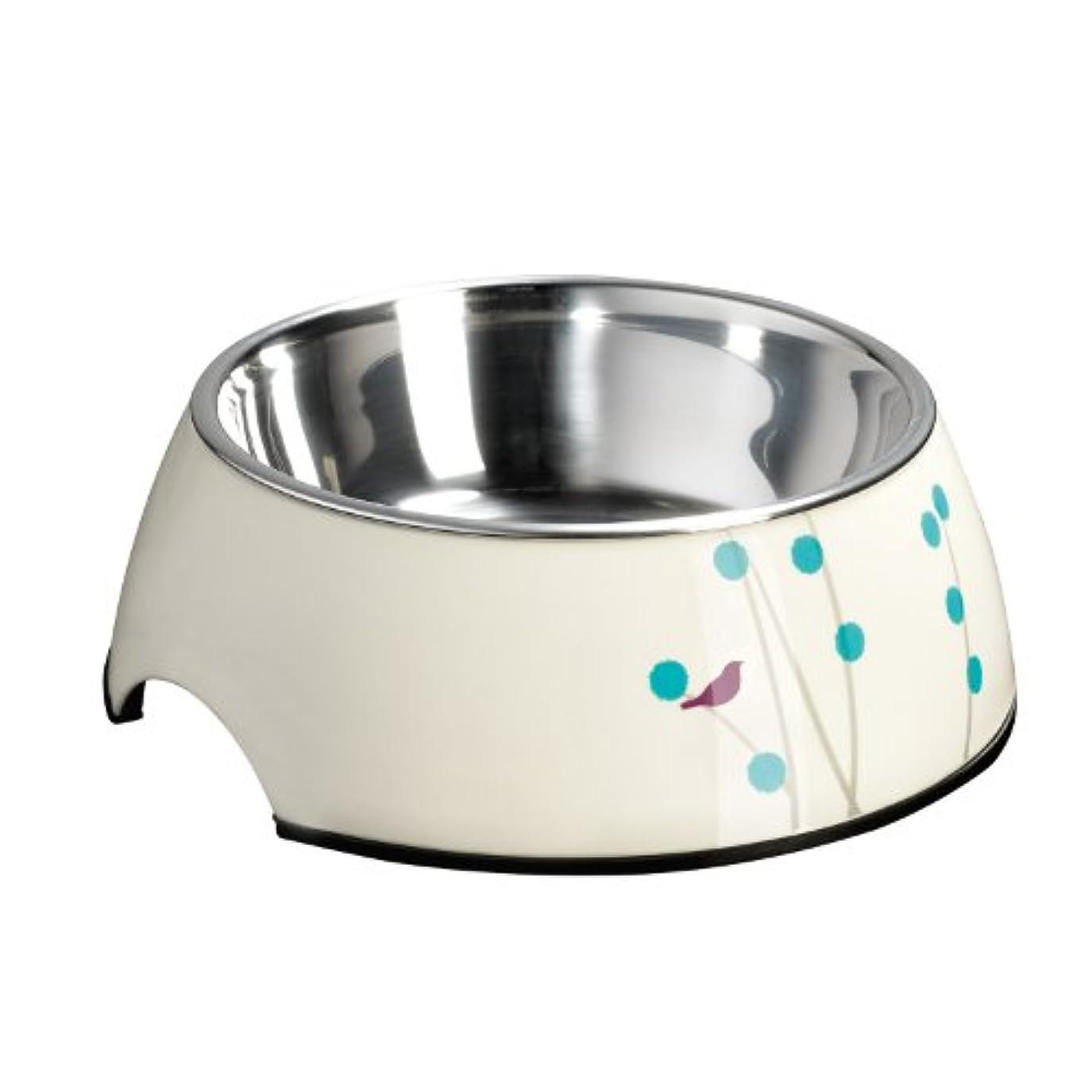 Hunterフードボウル サマー 350ml 犬 猫 ペット用 ステンレス メラミン ボウル エサ入れ 食器 (92301)