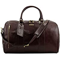Tuscany Leather TL Voyager Travel Leather Duffle Bag - Large Size - TL141794 59d0fe5a8653d