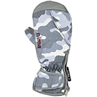 nimaニーマ スキー スノーボード ジュニア 手袋「ミトングローブ/カモフラージュ柄」NGJ-254