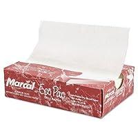 Marcal 5291eco-pac自然Interfoldedドライワックスペーパー、8quot ; X 10.75quot ;、500/ボックス、12ボックス/カートン