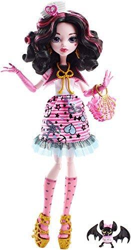 Monster High モンスターハイ Shriekwrecked Nautical Ghouls Draculaura Doll ドール [並行輸入品]