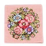 【FEILER】フェイラー ウォッシュクロス ハンドタオル ハンカチ 30x30cm Wash Cloth Vienna 130 Rose ローズ [並行輸入品]