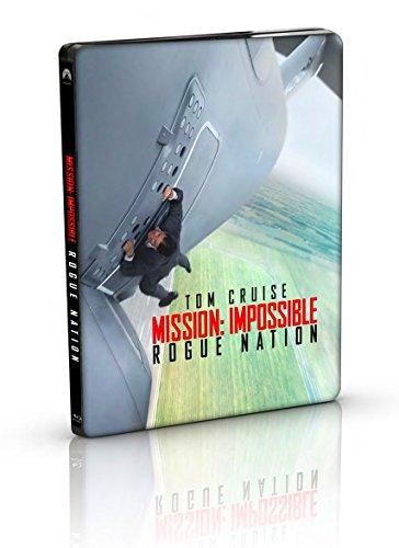 【Amazon.co.jp限定】ミッション:インポッシブル/ローグ・ネイション ブルーレイ+DVD+ブルーレイ特典ディスク スチールブック仕様(3枚組)(キャラクターカードセット付)(2500枚限定) [Blu-ray]の詳細を見る