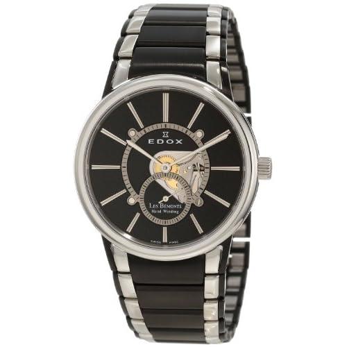 [エドックス] EDOX 腕時計 Men's 自動巻 72011 357N NIN メンズ [TimeKingバンド調節工具& HARP高級セーム革セット]【並行輸入品】