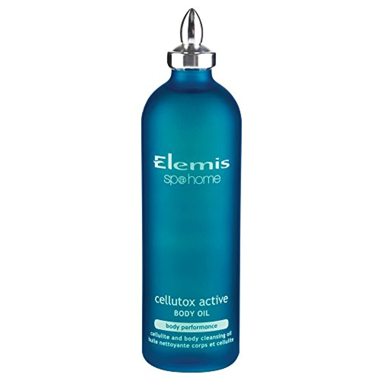 パターンリラックスした布エレミスCel??Lutoxアクティブボディオイル100ミリリットル (Elemis) (x2) - Elemis Cellutox Active Body Oil 100ml (Pack of 2) [並行輸入品]