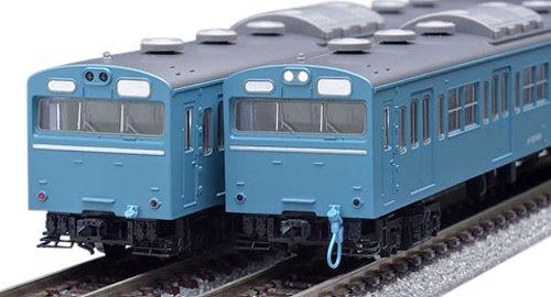 TOMIX Nゲージ 92586 103系通勤電車  高運転台非ATC車 スカイブルー 基本  4両